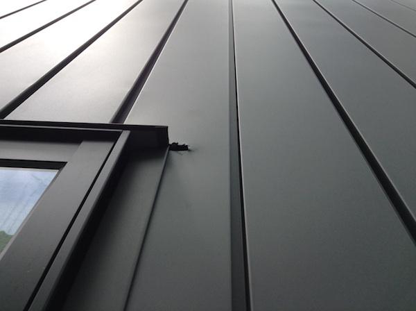 ガルバリウム外壁傷補修