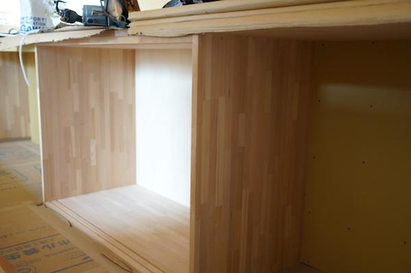 造作家具 キッチン背面収納