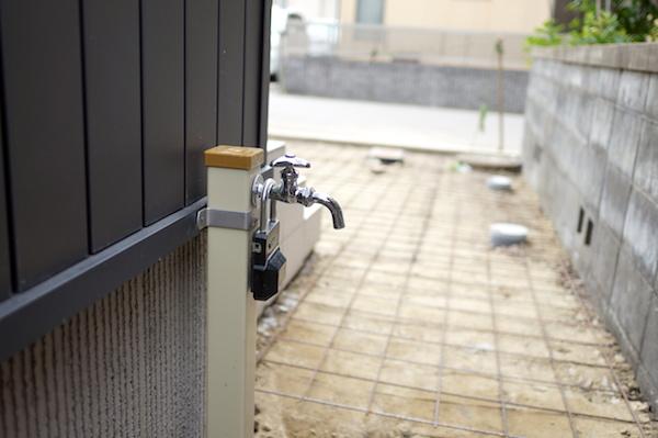 立水栓位置