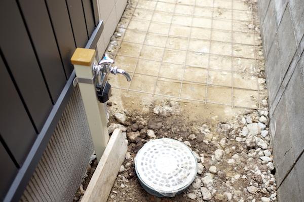 立水栓DIY