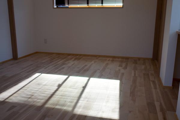 子供部屋無垢床