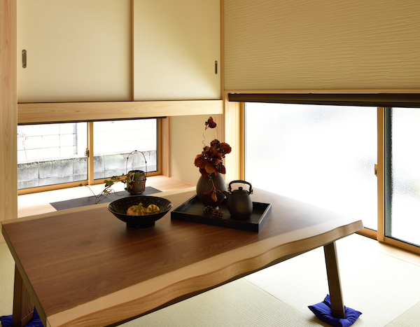 WEB内覧会-和室偏- ヒノキと珪藻土で気持ちいい空間に。