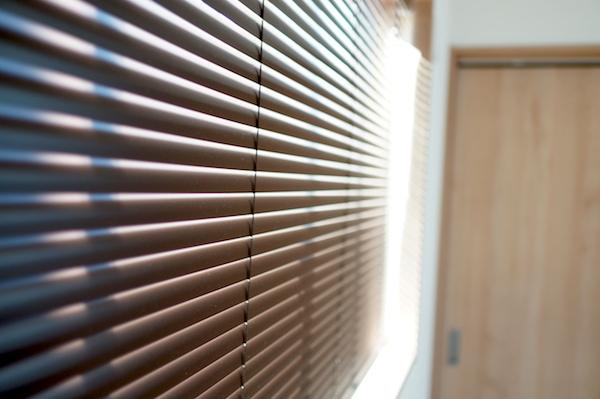 WEB内覧会寝室ブラインドカーテン