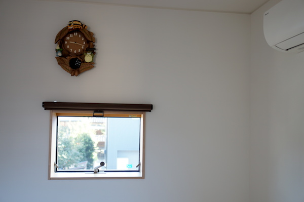 寝室インテリア時計