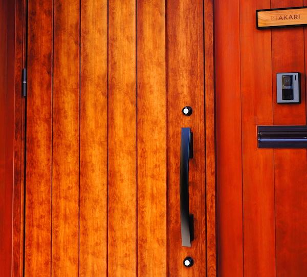 web内覧会 -玄関- 収納付き。インテリアは北欧っぽく。