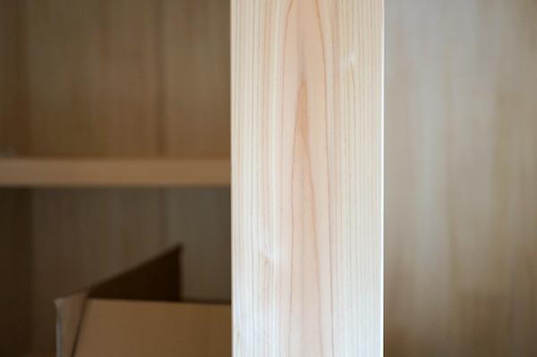 ヒノキ化粧柱