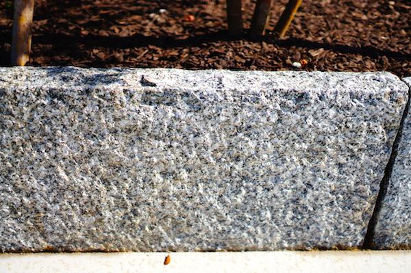花壇ブロック御影石