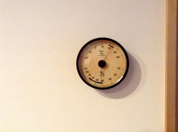 温湿度計アナログ