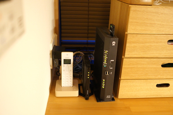 ルーター収納無線LAN