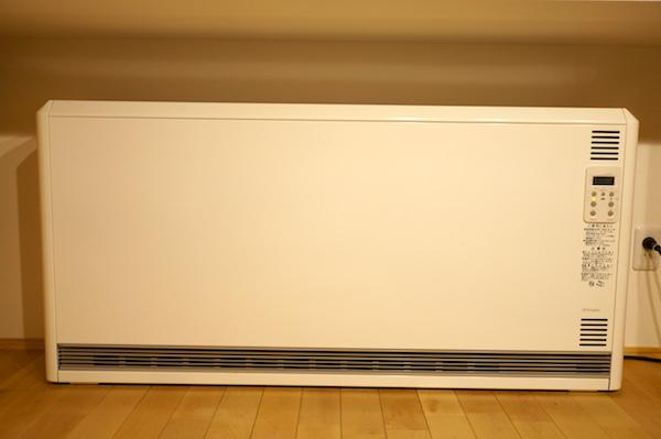 蓄熱暖房機の仕組み