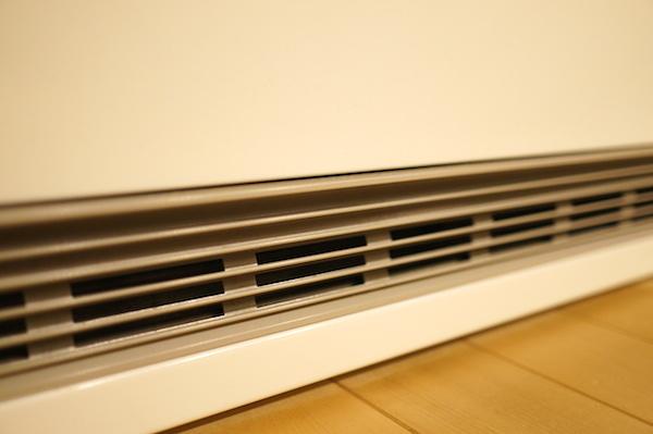 蓄熱暖房機ファン