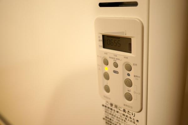 蓄熱暖房機使い方