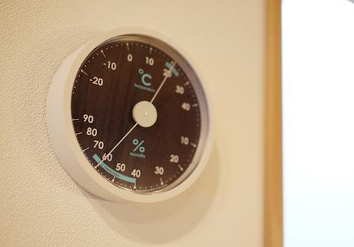 精度が高い温湿度計が壊れた!同じデザインでカラー変更!