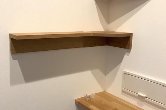 玄関に棚取り付けDIY!!無印(壁に付けられる収納) でおしゃれインテリア